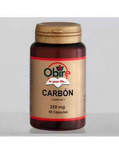 CARBON VEGETAL ACTIVADO 300 MG 60 CAPS - OBIRE
