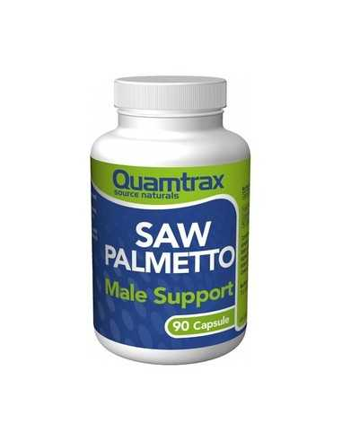 SAW PALMETTO MALE SUPPORT 90 CAPS 300 MG - QUAMTRAX