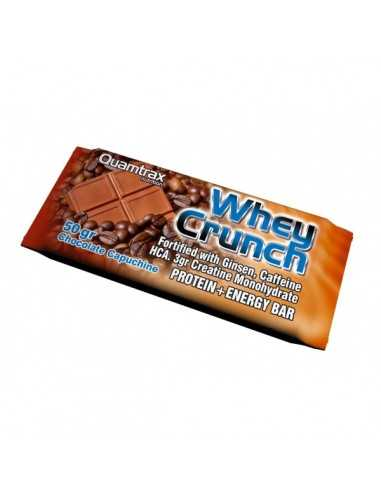 BARRITA WHEY CRUNCH BAR 50 GRS UNID - QUAMTRAX