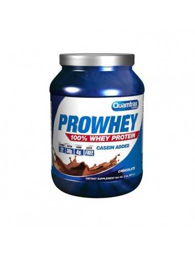 PRO WHEY 100% WHEY PROTEIN 907 GRS - QUAMTRAX