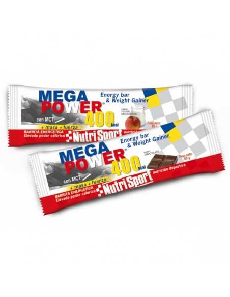 BARRITA ENERGETICA MEGA POWER 400 KCAL 12 UNIDS - NUTRIPORT