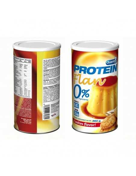 PROTEIN FLAN 0% AZUCARES 360 GRS - QUAMTRAX