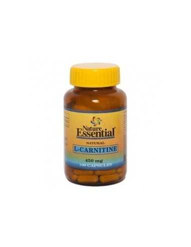L-CARNITINE 450 MG 100 CAPS - NATURE ESSENTIAL