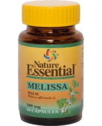MELISA BALM MELISSA OFICINALIS 300 MG 50 CAPS - NATURE ESSEN