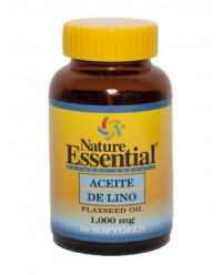 ACEITE DE SEMILLA DE LINO 1000 MG 30 CAPS - NATURE ESSENTIAL