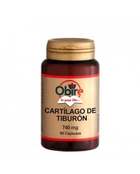 CARTILAGO DE TIBURON 740 MG 90 CAPS - OBIRE