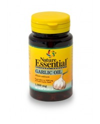GARLIC OIL - AJO - ALLIUM SAVITUM 60 CAPS - NATURE ESSENTIAL