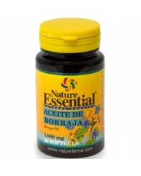 ACEITE DE BORRAJA 1000 MG 30 PERLAS - NATURE ESSENTIAL