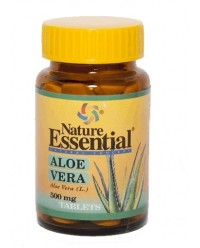 ALOE VERA 500 MG 10 TABS - NATURE ESSENTIAL