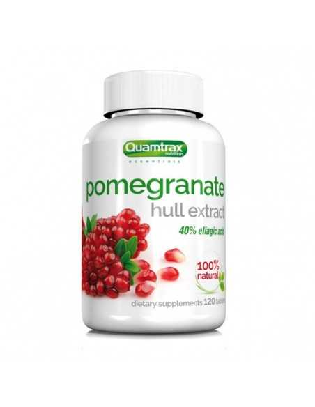 POMEGRANATE HULL EXTRACT 120 TABS - QUAMTRAX
