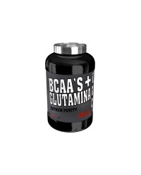 BCAAS + GLUTAMINA EXTREM PURITY 300 GRS - MEGAPLUS