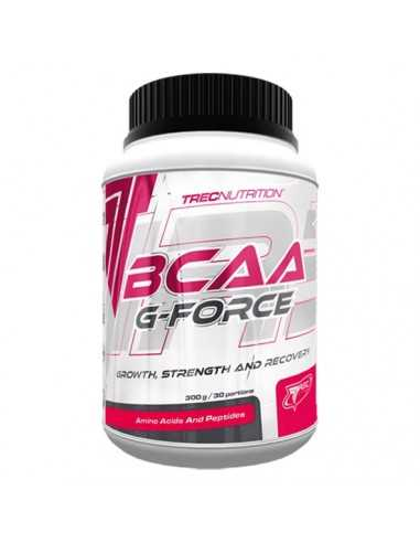 BCAA G-FORCE BCAA CON GLUTAMINA 300 GRS - TREC NUTRITION
