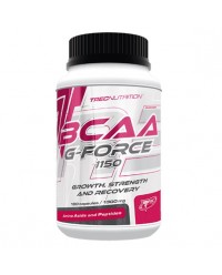 BCAA G-FORCE 1150 BCAA Y GLUTAMINA 180 CAPS - TREC NUTRITION
