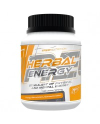 HERBAL ENERGY GUARANA Y GINSENG 60 CAPS - TREC NUTRITION