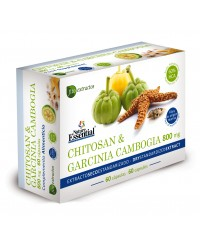 CHITOSAN Y GARCINIA CAMBOGIA 800 MG - NATURE ESSENTIAL