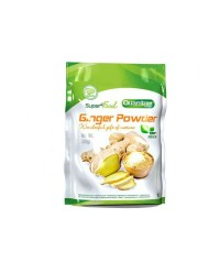 GINGER POWDER SUPER FOOD 300 GRS - QUAMTRAX