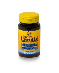 VITAMINAS & MINERALES 60 TABL - NATURE ESSENTIAL