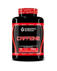 CAFFEINE 200 MG 100 CAPSULAS - SCIENTIFFIC NUTRITION