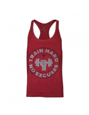CAMISETA DE GIMNASIO STRINGER 05 TRAIN HARD - TREC NUTRITION