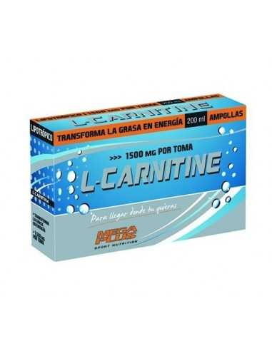 L-CARNITINE RECOVERY 1500 MG 20 AMPOLLAS - MEGAPLUS