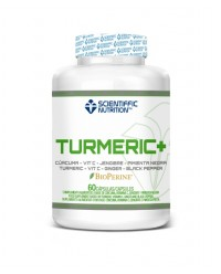 TURMERIC + 60 CAPSULAS - SCIENTIFFIC NUTRITION