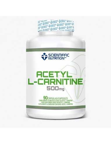 ACETYL L-CARNITINE 500 MG 90 CAPS - SCIENTIFFIC NUTRITION
