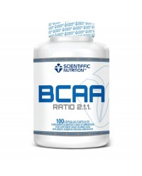 BCAA RATIO 2.1.1 100 CAPSULAS - SCIENTIFFIC NUTRITION