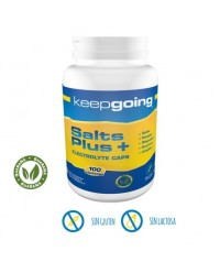 SALTS PLUS + ELECTROLYTE 100 CAPS - KEEPGOING