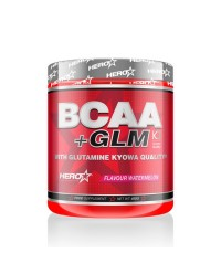 BCAA + GLM WHITH GLUTAMINA KIOWA 400 GRS - HERO TECH