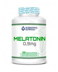 MELATONIN 0.9 MG 100 CAPSULAS - SCIENTIFFIC NUTRITION