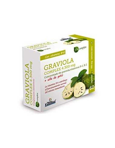 GRAVIOLA COMPLEX 4300 MG 60 CAPSULAS - NATURE ESSENTIAL
