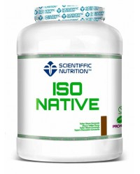 ISO NATIVE 908 GRS - SCIENTIFFIC NUTRITION