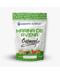 HARINA DE AVENA 1 KG - SCIENTIFFIC NUTRITION