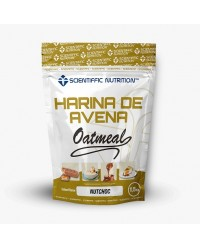 HARINA DE AVENA OATMEAL 1.5 KG - SCIENTIFFIC NUTRITION