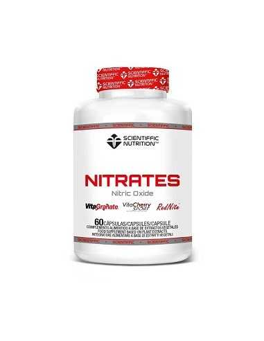 NITRATES NITRIC OXIDE 60 CAPSULAS - SCIENTIFFIC NUTRITION