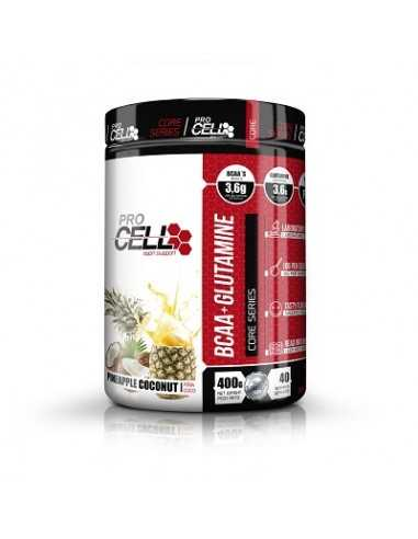 BCAA + GLUTAMINE CORE SERIES 400 GRS - PRO CELL