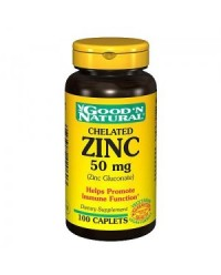 ZINC QUELADO 50 MG 50 TAB - NATURE ESSENTIAL