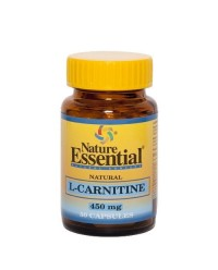 NATURAL L-CARNITINE 450 MG 50 CAPS - NATURE ESSENTIAL