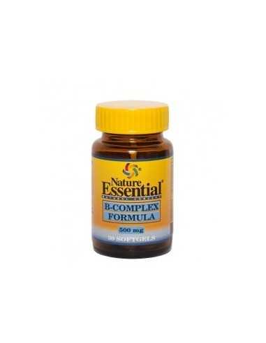 B-COMPLEX FORMULA 500 MG 30 PERLAS - NATURE ESSENTIAL