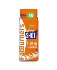 FATBURNERS SHOT 60ML - NUTRISPORT