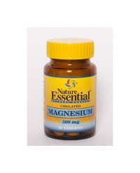 CHELATED MAGNESIUM 300 MG 50 TABS - NATURE ESSENTIAL